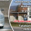 TATABÁNYAINFO-Autómosó az Interspar mellett