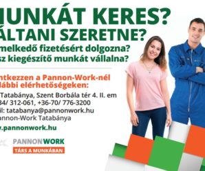 TATABÁNYAINFO-Pannon Work-munka közvetítő