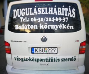 KESZTHELYINFO-Kelemen József, duguláselhárítás