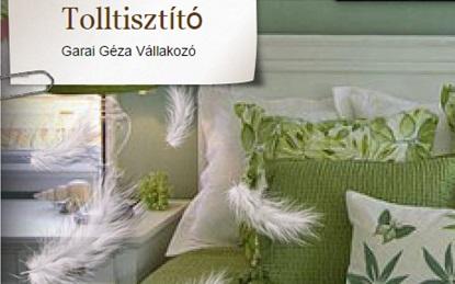 ZUGLÓINFO//Tolltisztítás és Paplankészítés – Garai Géza