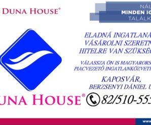 KAPOSVÁRINFO/Duna House Ingatlaniroda
