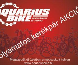 DUNAÚJVÁROSINFO- Aquarius Bike kerékpár üzlet és szervíz