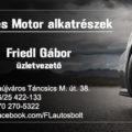 DUNAÚJVÁROSINFO-Friedl Gábor Autó és motor alkatrész üzlet