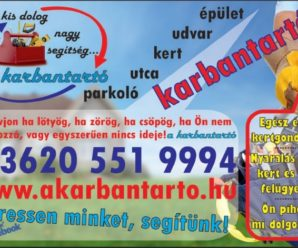 SOPRON-Farkas János Épület, kert és egyéb karbantartások