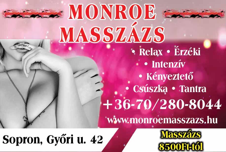 SOPRON – MONROE MASSZÁZS
