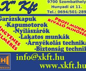 SOPRON – X KFT.
