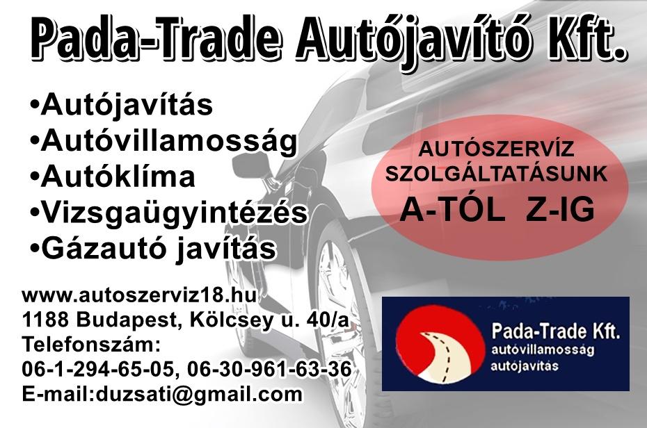 BUDAPEST- Pada-Trade autójavító Kft.