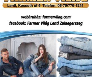 LENTI INFO – FARMERVILÁG – Farmer Üzlet Lentiben